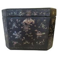 Large Oriental Storage Box - Mother of Pearl Inlay