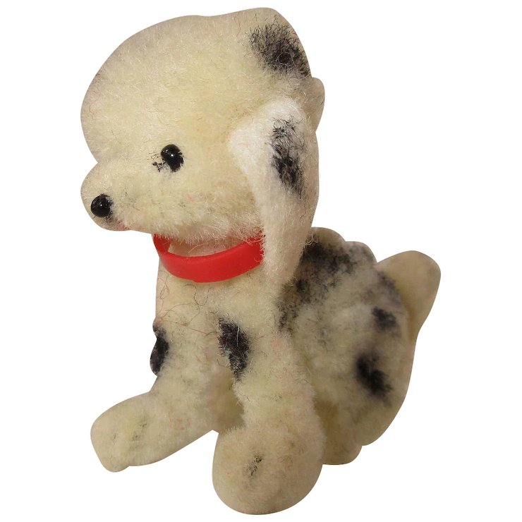 Adorable Miniature Dalmatian Dog For Dolls House Menagerie
