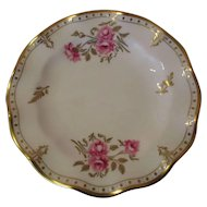 "8 Royal Crown Derby  6"" Side/Butter Plates - 'Royal Pinxton Roses'"