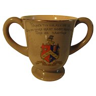 Antique Wileman 'Yorkshireman's' Loving Cup ~ c 1900