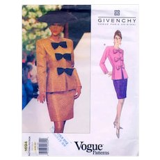 GIVENCHY Vogue Paris Original Suit Pattern