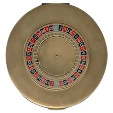 MAJESTIC Brand Movable Roulette Wheel Compact