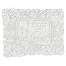 1939 New York World's Fair Lace Panel