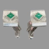 Signed S. CHRISTIAN GERMANY Sterling Silver Cufflinks
