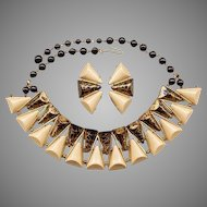 The Ultimate German Art Deco Style Necklace & Earrings Set