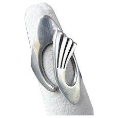 Josefina ZAGAL TASCO Modernist Sterling Silver Ring