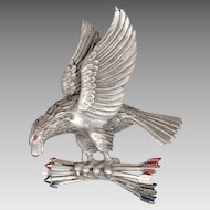 1940 Rice-Weiner Patriotic American Eagle Pin