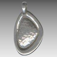 Silpada Israel Modernist Sterling Silver Pendant