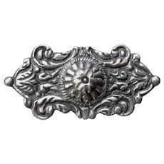 Guglielmo Cini Sterling Silver Pin