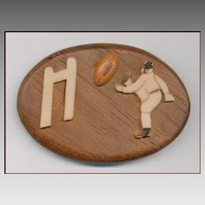 Too Cool 1940's Novelty Football Field Goal Pin