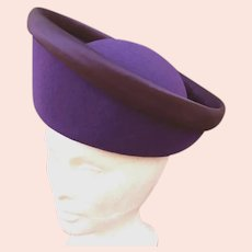 Mr. John Classic Tall Purple Hat