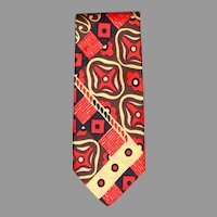 BOLD Colorful Schiaparelli Men's Tie Klopfensteins