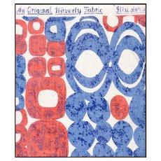 "Waverly Fabrics ""ILLUSIONS"" Heavy Cotton Print"