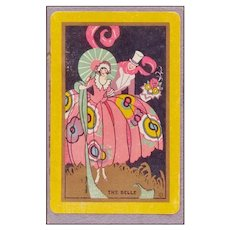 """""""THE BELLE"""" Art Deco Playing Cards"""