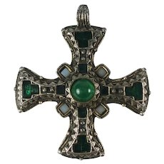 Vintage Miracle Celtic Cross Pendant