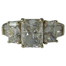 Vintage 14k Yellow Gold Designer Valitutti Ring