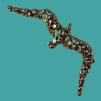 Vintage Zentall Modernist Bird Brooch