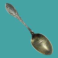 Antique Niagara Falls Sterling Silver Souvenir Spoon