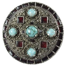 Vintage 1960s Miracle Pendant Brooch-Anglo-Saxon