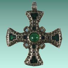 Vintage Miracle Celtic Cross Pendant