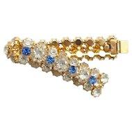 Chunky Layered Rhinestone Bracelet
