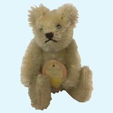 White Steiff Teddy bear 3.5 inches 1950s