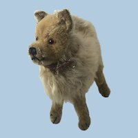Antique Steiff Wolfspitz dog 1930s