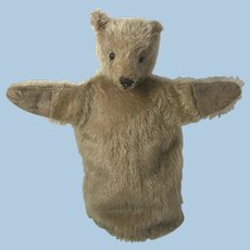 Antique Teddy Bear Puppet