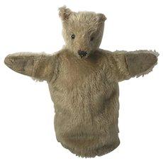 Antique Teddy Bear Puppet