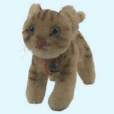 Steiff Tapsy cat 11 cm 1960s