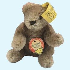 """Steiff """"Bendy"""" Teddy Bear 3.5 inches tall 0202/11"""