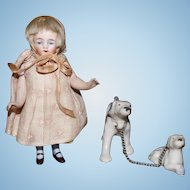 Adorable All Bisque Kestner doll