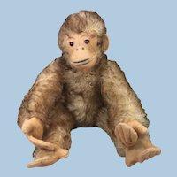 Petz Brown tipped Mohair Monkey 1950s