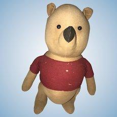 Agnus Brush Winnie the Pooh Teddy Bear 1940s