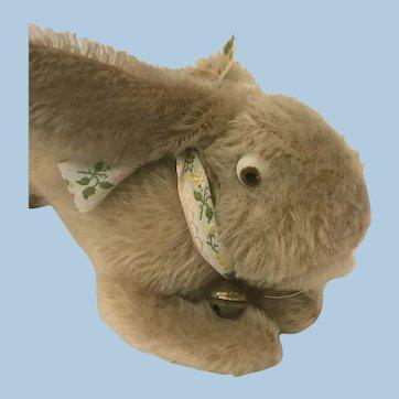 Antique German mohair Jack Rabbit googly glass eyes