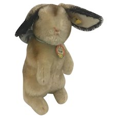 Steiff Hase Rabbit all original with IDs 1950s