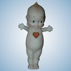 "7"" All-Bisque Standing Kewpie Doll"