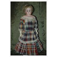 ABG #698-1/2 Turned Shoulder Head Doll