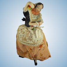 Vintage Roiga Spanish Dancer Doll from 1959