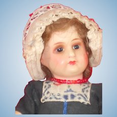 Vintage Painted Bisque Dutchgirl by Armand Marseille