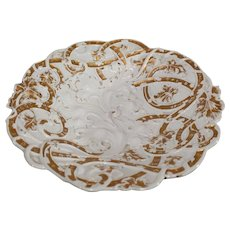 Antique Meissen Gold Encrusted Bowl