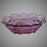 Moser Alexandrite Oval Center Bowl