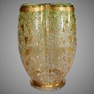 Moser Art Glass Vase - circa 1890