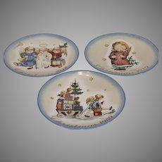 Berta Hummel Schmid Christmas Plates