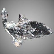 Baccarat Crystal Fish