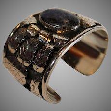 Sterling Silver Sugalite Cuff Bracelet