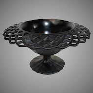 Satin Ebony Center Bowl