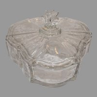 Navarre Clear Triple Divided Candy Dish
