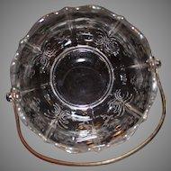 Fostoria Navarre Clear Ice Bucket