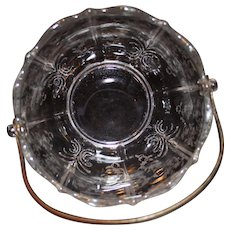 Fostoria Navarre Clear Ice Bucket